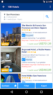 Booking.com - 750.000+ hotels: miniatuur van screenshot