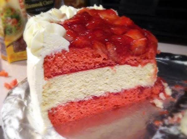 Strawberry Cheesecake-cake Recipe