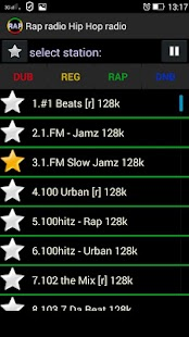 Rap radio Hip Hop radio Screenshot