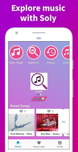 Soly - Song and Lyrics Finder screenshots 1