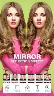 Photo Mirror Reflection Pro - Grid Collage Editor