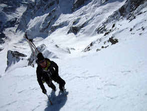 Photo: Ridge after exit couloir