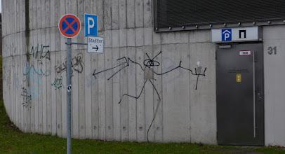 Photo: Harald Naegli aka Der Sprayer von Zürich