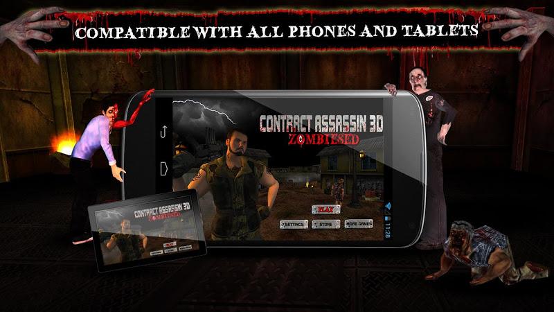 Скриншот Contract Assassin 3D - Zombies