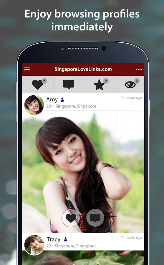 Singapore dating mobile app