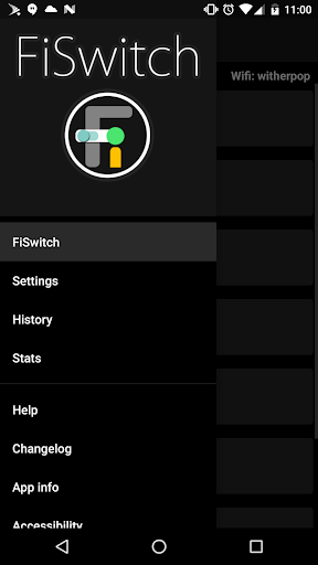 Screenshot for FiSwitch in United States Play Store
