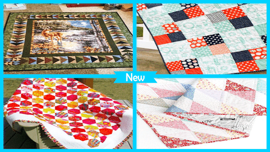 Beautiful Quilt Fabric Ideas - náhled