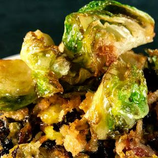 Crispy and Roasted Brussels Sprouts Recipe