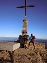 Photo: Carles Arteaga Lozano i Ignasi Solarnou, ex-escoltes del Gaudí, dalt del Matagalls (1.698m). Massís del Montseny