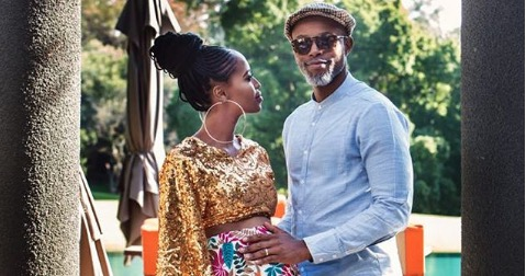 Thapelo Mokoena and Lesego's bundle of joy arrived recently.