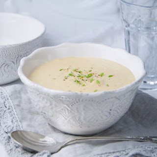 Roasted Garlic and Parsnip Soup