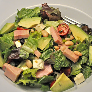 Ham, Bean, & Avocado Salad