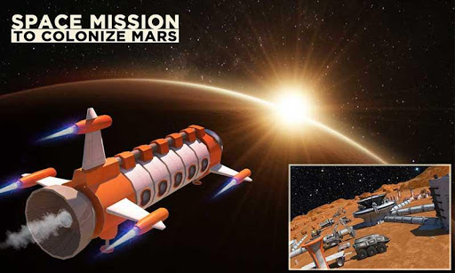 Space Station Construction City Planet Mars Colony screenshots 2