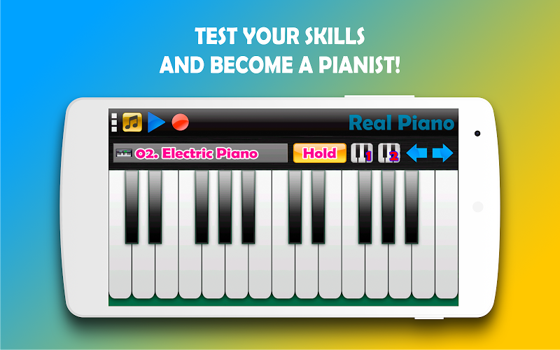 Real Piano - The Best Piano Simulator APK Cracked Free