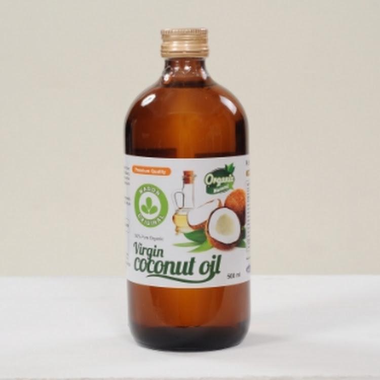 Mason Original Virgin Coconut Oil ( 500ml narrow neck glass jar )