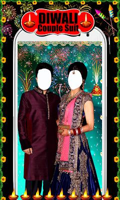 Diwali Couple Photo Suit - screenshot