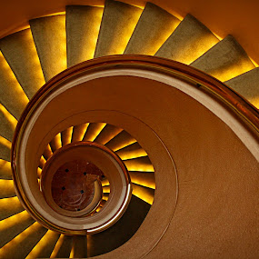 Spiral Stairs by Joseph Goh Meng Huat - Buildings & Architecture Other Interior ( stairs, spiral stairs, spiral, singapore )
