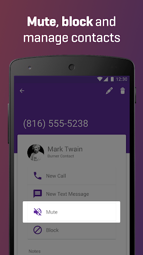 Burner - Free Phone Number 3.8.2 screenshots 5