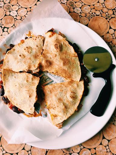Tortilla in KFC Quritto style