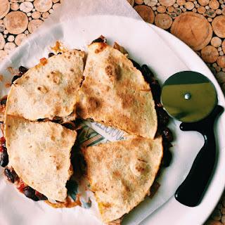 Tortilla in KFC Quritto style.