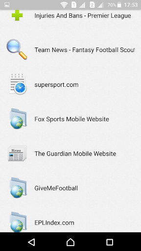 English Football Fantasy  screenshots 11