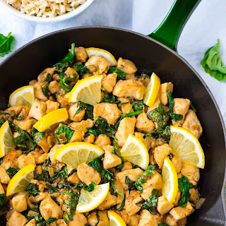 Lemon Basil Chicken.