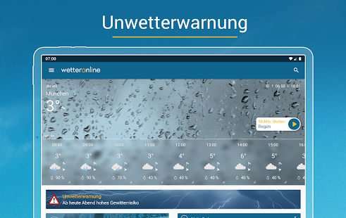 Wetter Online Screenshot