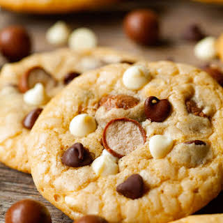 Malted Milk Ball Cookies.