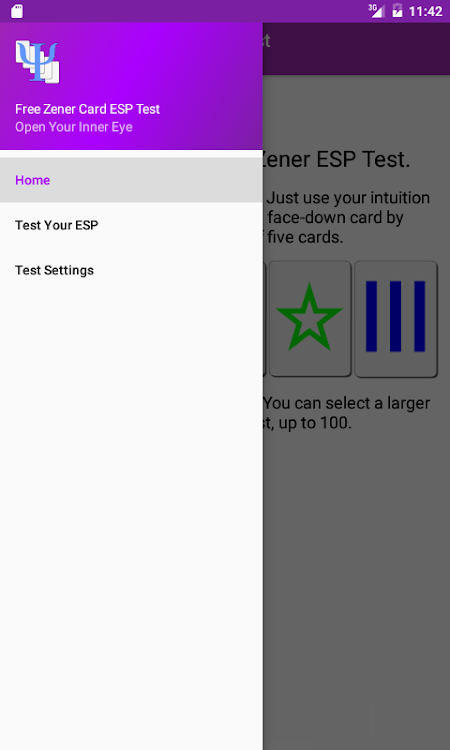 Free Zener Card ESP Test – (Android Apps) — AppAgg