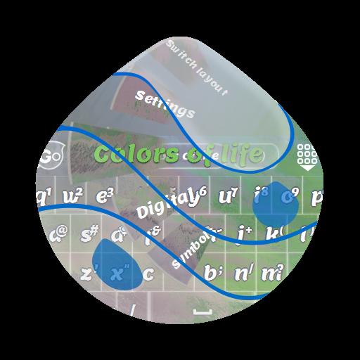 个人化の人生の色 GO Keyboard LOGO-記事Game