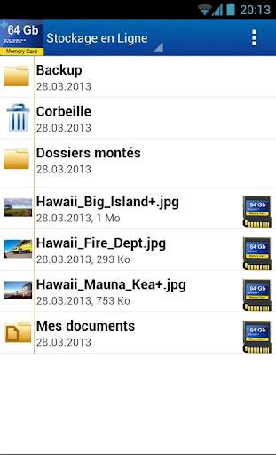 64GB Free Storage 3.0 screenshots 2