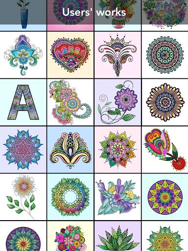 Mandala Coloring Book 3.1.4 screenshots 9