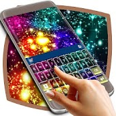 Rainbow Glitter Keyboard For Huawei