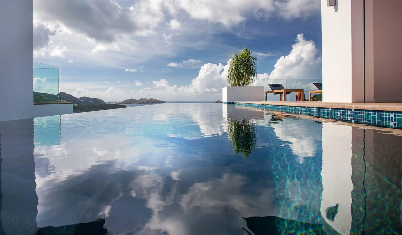 Villa avec piscine Saint Barthelemy