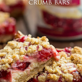 Cherry Pie Sour Cream Pie Bars
