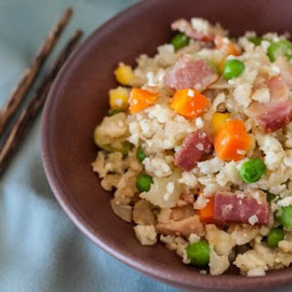 Cauliflower Fried Rice with Bacon.