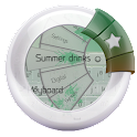 Summer drinks Keyboard icon