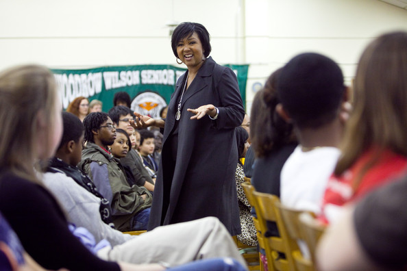 Photo: Mae Jemison en  Woodrow Wilson High School