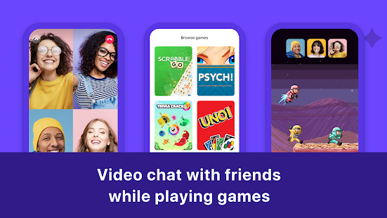 Bunch: Group Video Chat & Party Games Screenshot