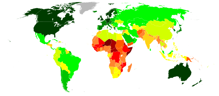 What Is A Countrys GDP Not Telling Us Big Think - Us welfare map
