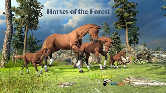 Horses of the Forest screenshot 0