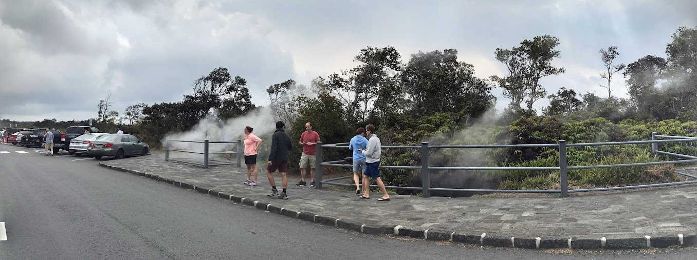 Kilauea - steam vents