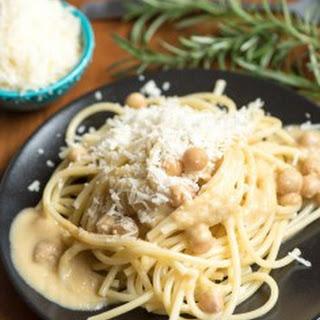 Pasta with Garbanzo Beans.