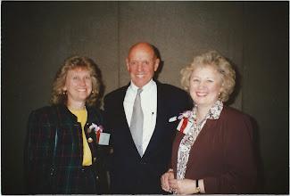 Photo: Judy Grisson, Steven Covey, Linda Morris