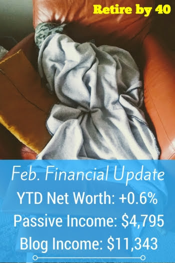 Feb. 2018 Financial Update