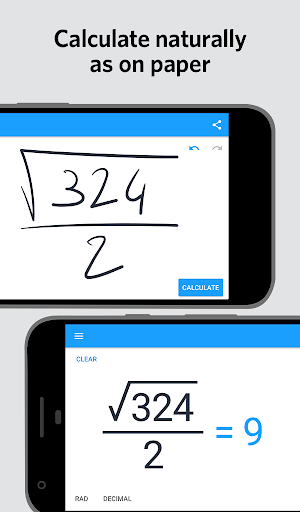 Screenshot for MyScript Calculator 2 in United States Play Store