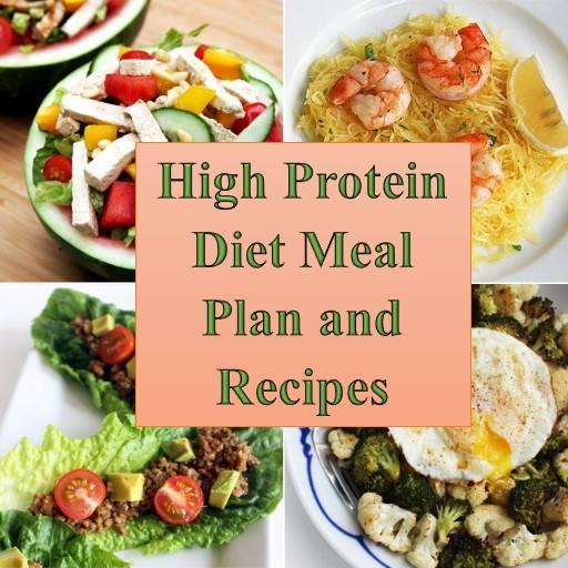 Hyperproteic Diät Tagesmenü