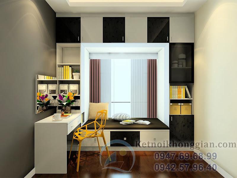 thiết kế phòng ngủ hiện đại 13