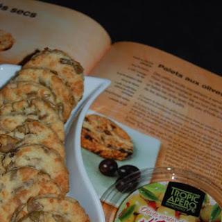 Breton Olive Biscuits.
