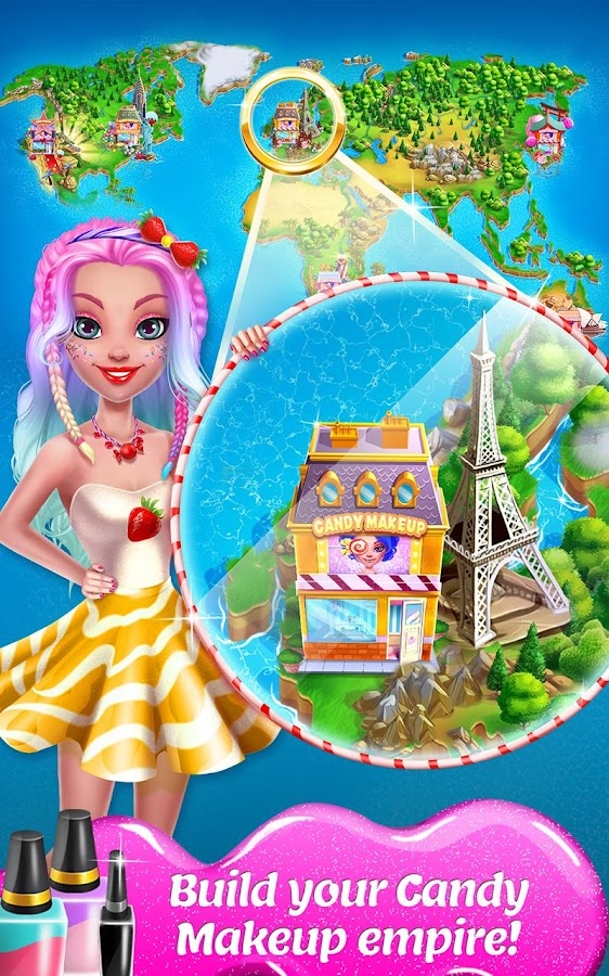 Candy Makeup Beauty Game - Sweet Salon Makeover - Android Apps on ...
